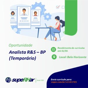 Analista R&S – BP (Temporário)